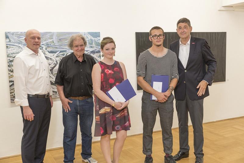 90. Jahresschau 2016 Kunst- und Gewerbeverein Regensburg e.V. Ludwigstraße Preisverleihung Lena Schabus und Christian Kölbl Foto: altrofoto.de