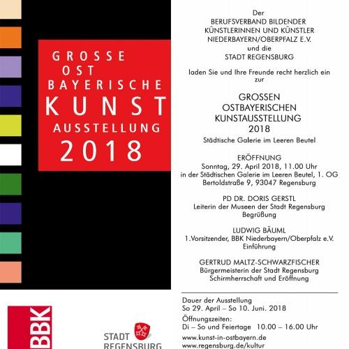 Einladung des BBK NbOpf und er Stadt Regensburg
