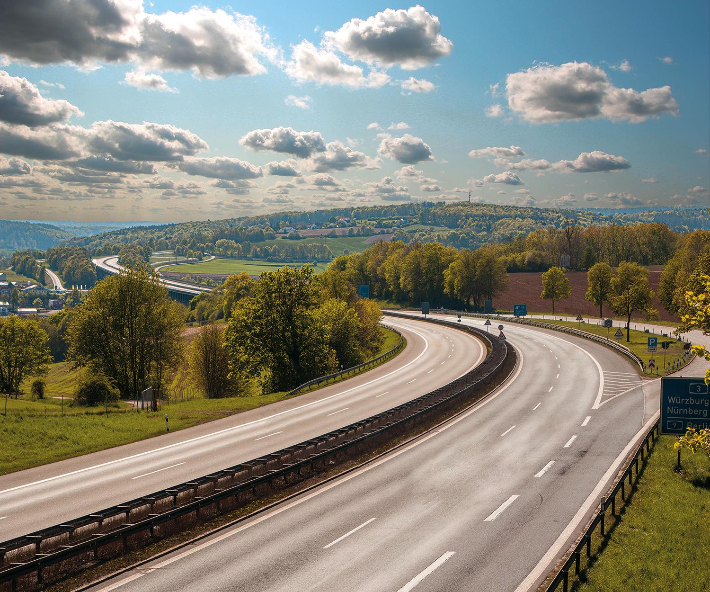 Autobahn I, 2020, Bildcomposing