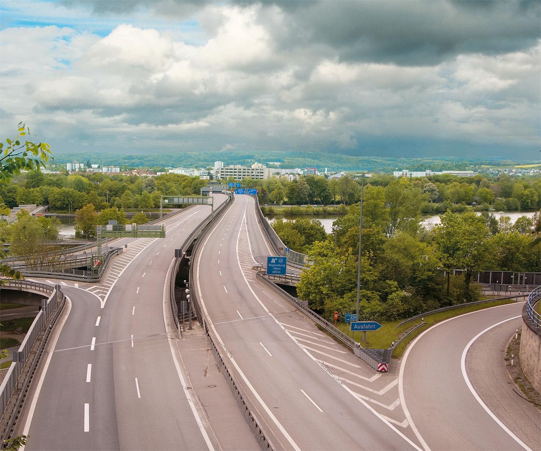 Autobahn II, 2020, Bildcomposing