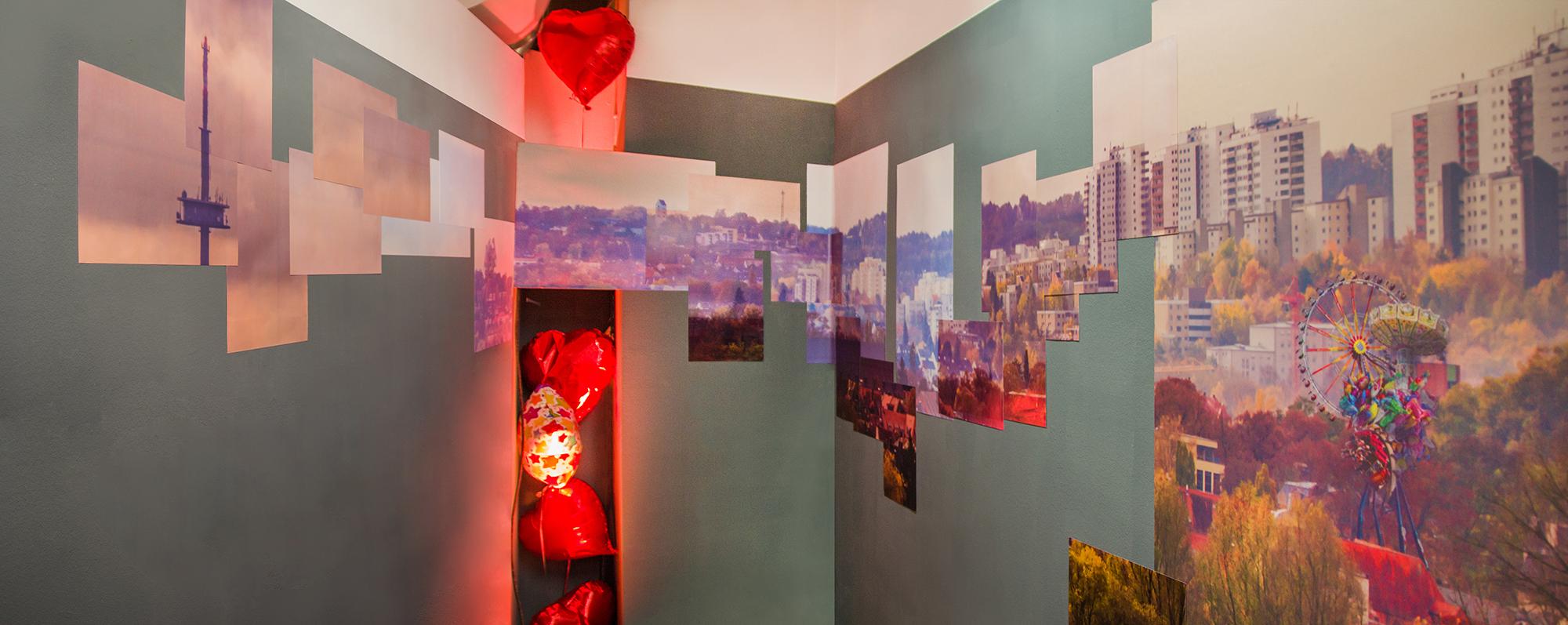 Installation in der Kleinsten Galerie