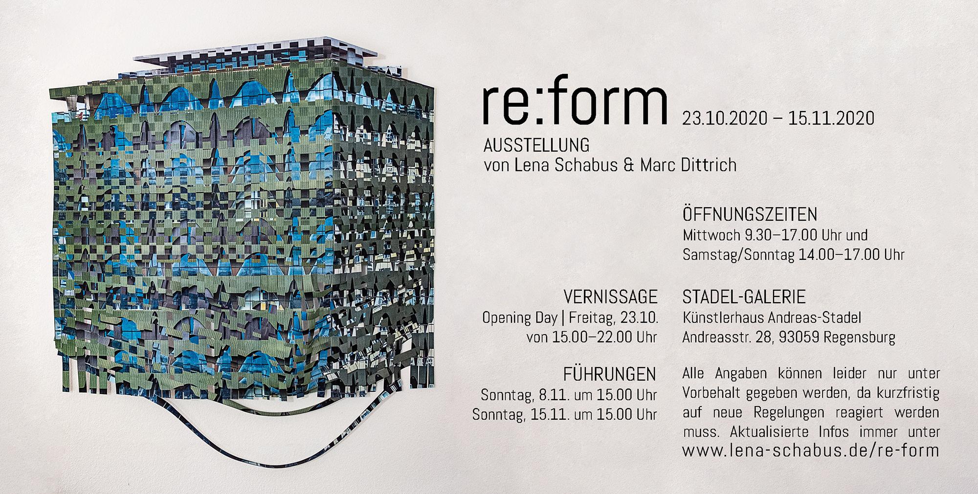 Ausstellung re:form