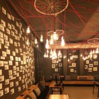 Impressionen vom Aufbau der Ausstellung